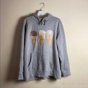 BBC ice cream cone hoodie